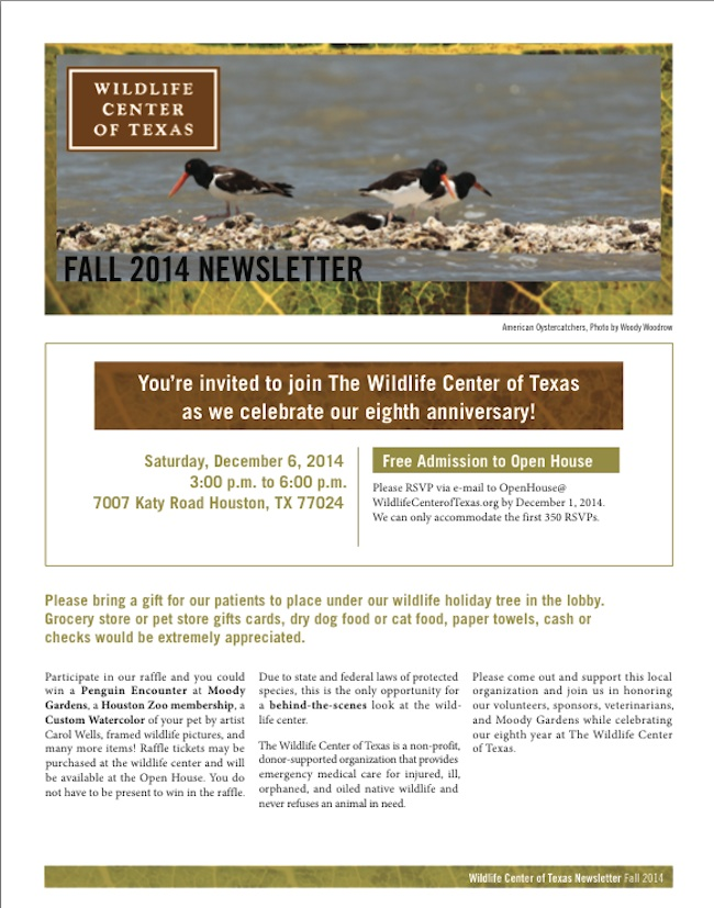 Click to Read our Newsletter!